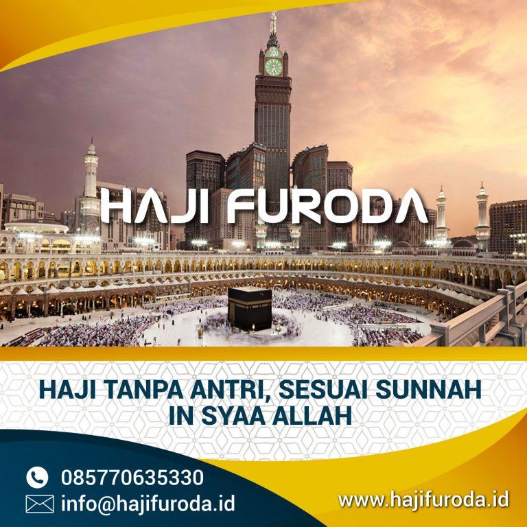 Haji Furoda Sesuai Sunnah