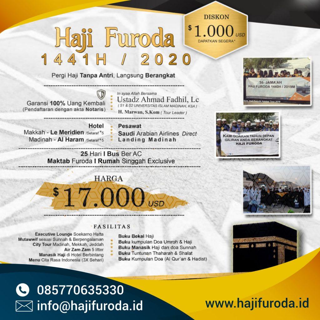 Haji Khusus Visa Furoda 2020