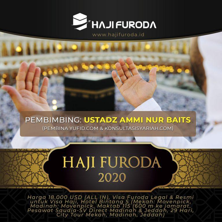 Haji Furoda 2020 bersama Ustadz Ammi Nur Baits