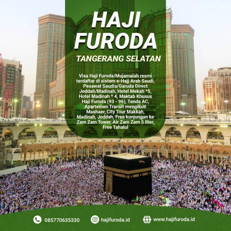 Haji Furoda Tangerang Selatan
