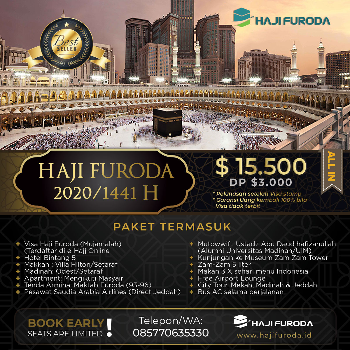 Biaya Haji Furoda Malang