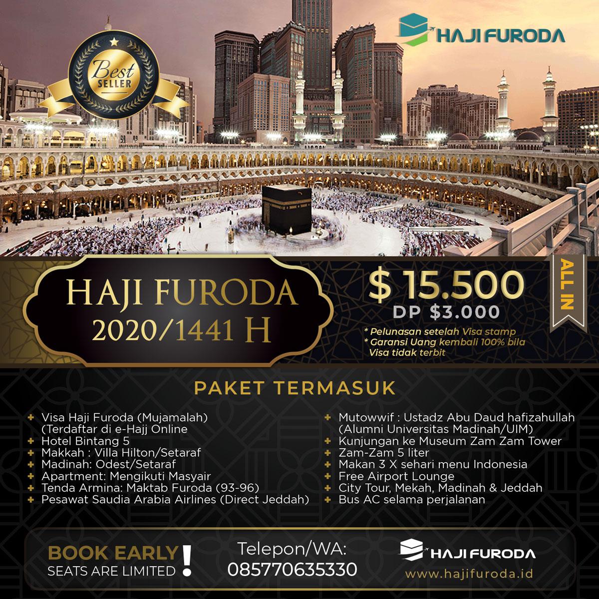 Biaya Haji Furoda Padang