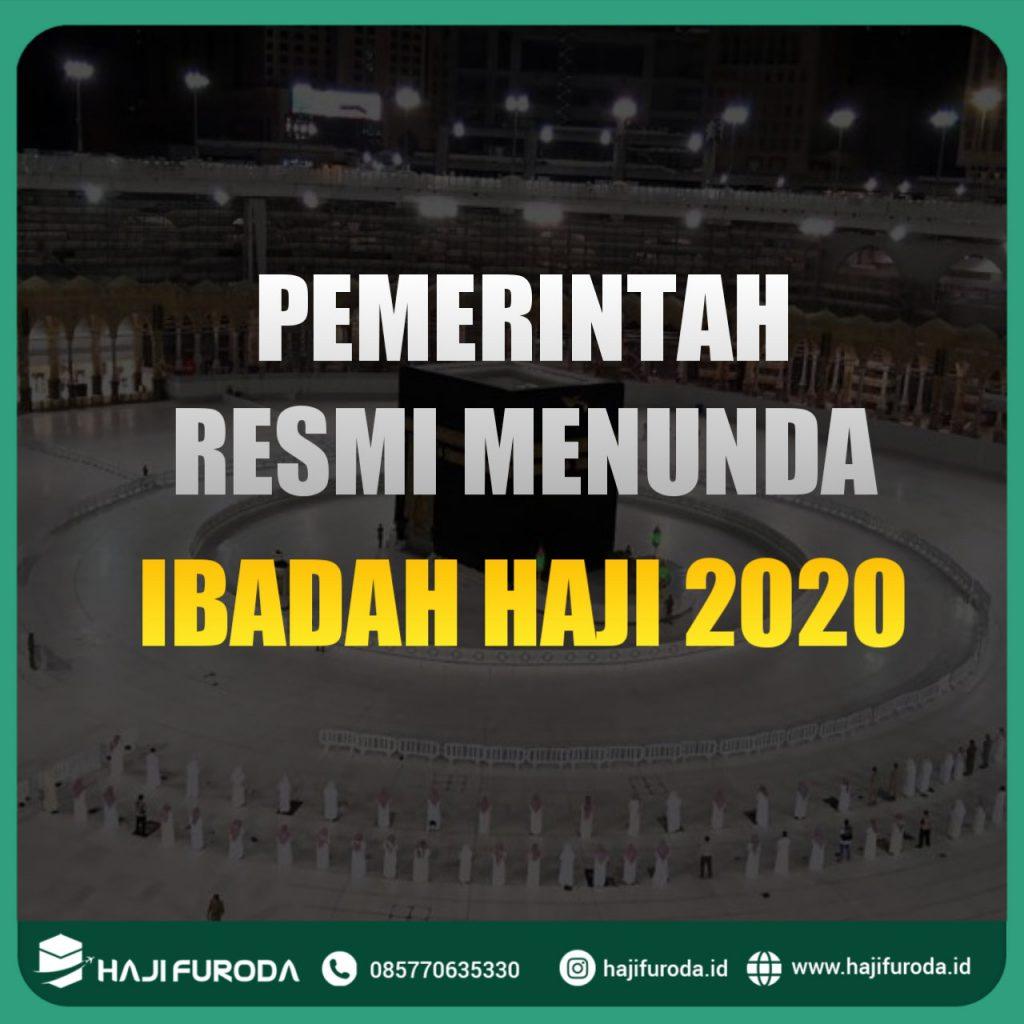 Haji 2020 Resmi Ditunda