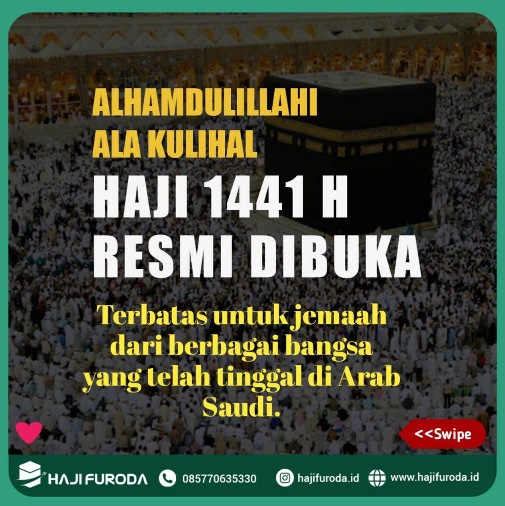 Haji 2020 Resmi di Laksanakan