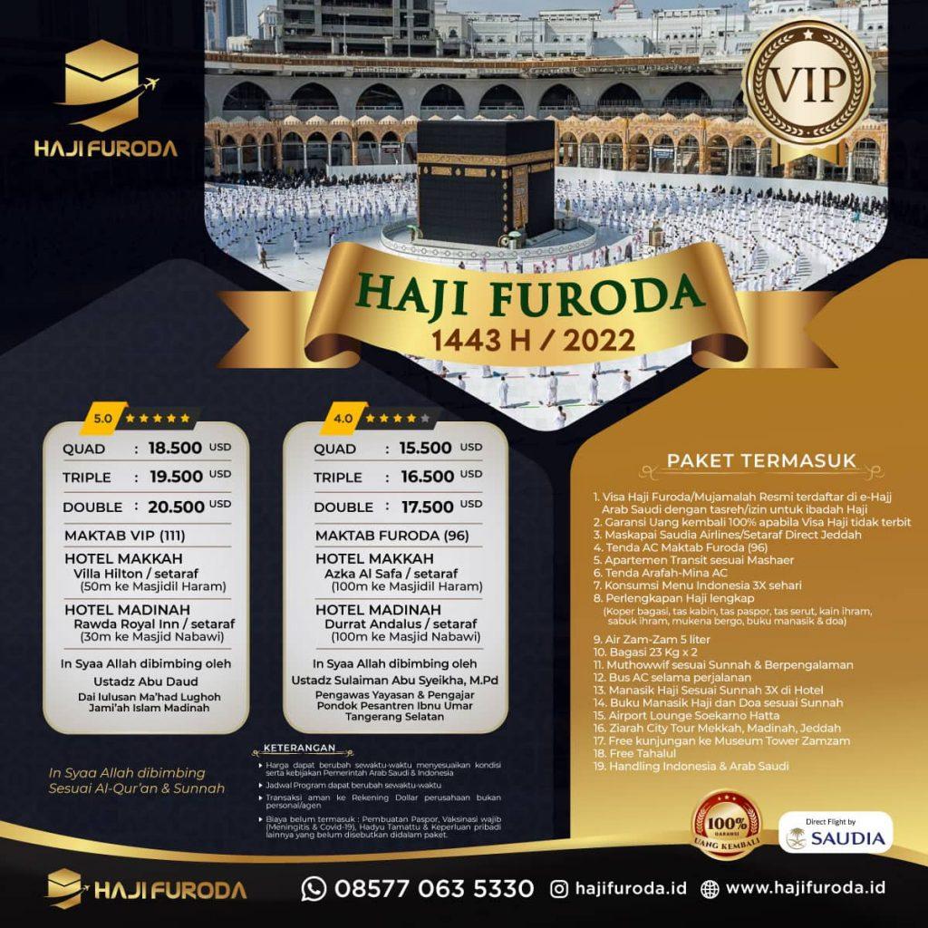 Haji Furoda 2022/1443 H