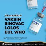 Vaksin Sinovac Lolos EUL WHO